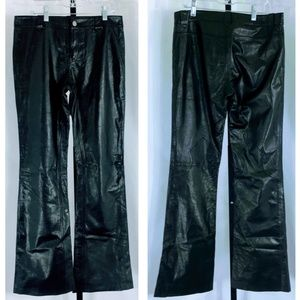 Vtg Theory Alexis Nappa Leather Pants